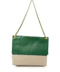 Swan Handtasche - zweifarbig