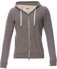 Levi's Original zip Up Hoodie - Sweat zippé à capuche - gris chiné
