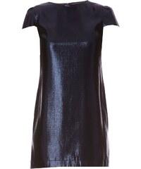 Les Prairies de Paris Kleid mit geradem Schnitt - marineblau