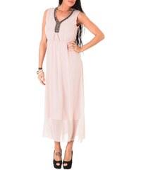 Toutes les robes Robe longue - rose
