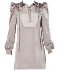LPC Kleid mit kurzem Schnitt - grau