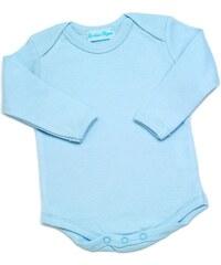 Les Bébés d Elysea Langarm-Body - himmelblau
