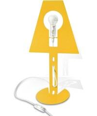 Fenel et Arno 2Plis - Lampe design 2D - jaune