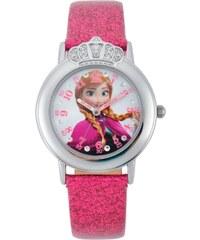 Disney Reine des neiges - Montre couronnée - Paillette Fushia