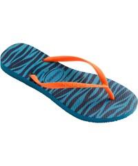 Havaianas Slim Animals - Tongs - bleu