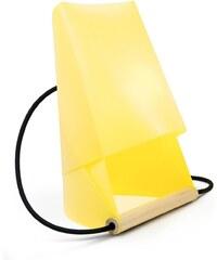 Entreautre Furoshiki - Lampe de chevet et de bureau - jaune