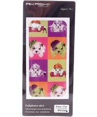 Akashi iPhone 4 - Sticker - mehrfarbig