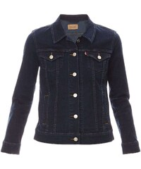 Levi's Boyfriend Trucker - Veste en jean - denim bleu