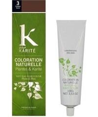 K Pour Karité Coloration naturelle semi-permanente - Châtain foncé n°3