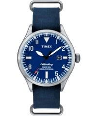 Timex Waterbury Date - Style: Stadt - blau