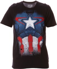 Cotton Division Captain America - T-shirt - noir