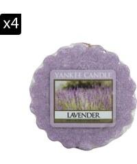 Yankee Candle Lavande - Lot de 4 tartelettes parfumées