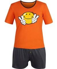 Pomm'Poire Night by Smiley - Ensemble pyjama court - orange