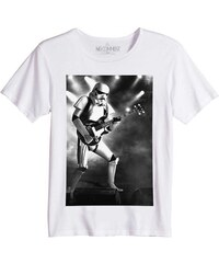 No Comment Paris Rock Star Wars Trooper - T-shirt Imprimé Bio - blanc