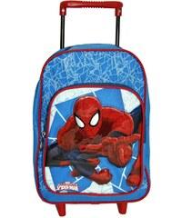 Spiderman Rolltasche - blau