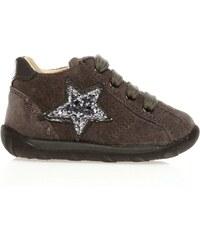 Naturino Chaussures montantes - en cuir suédé gris
