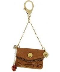 Trendy Mademoiselle Sac miniature - Porte clé - marron