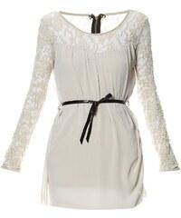Le dressing d'Alisson Kleid mit fließendem Schnitt - beige