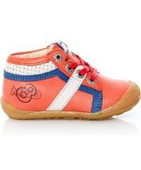 Mod8 Duncan - High Sneakers aus Leder - korallenfarben