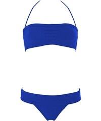 Joy de Villaret GRACE KELLY - Maillot de bain deux pièces bandeau et culotte - bleu