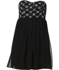 Le dressing d'Alisson Kleid mit Bustierschnitt - schwarz