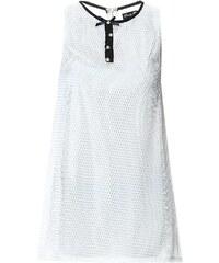 Le dressing d'Alisson Kleid mit kurzem Schnitt - weiß