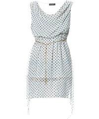 Le dressing d'Alisson Kleid mit fließendem Schnitt - weiß