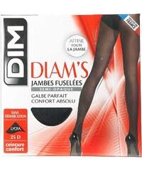 Dim Collant Diam's Ventre plat - Collant jambes fuselées - noir