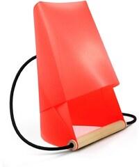 Entreautre Furoshiki - Lampe de chevet et de bureau - rouge