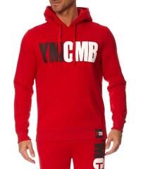 YMCMB Sweat à capuche - rouge