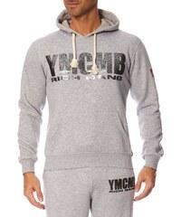 YMCMB Sweat à capuche - gris chiné