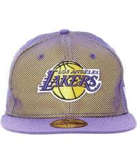 New Era Mesh Crown Lakers - Casquette - violet