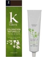 K Pour Karité Coloration naturelle semi-permanente - Brun n°2