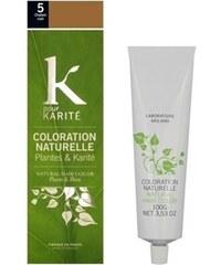 K Pour Karité Coloration naturelle semi-permanente - Châtain clair n°5