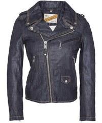 Schott Jacke - jeansblau