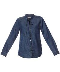 Vero Moda Chemise en jean - denim bleu