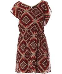 Best Mountain Kleid mit fließendem Schnitt - hellbeige