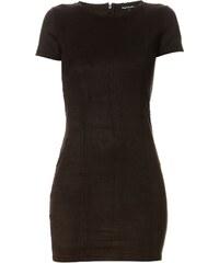 Best Mountain Kleid mit kurzem Schnitt - schwarz
