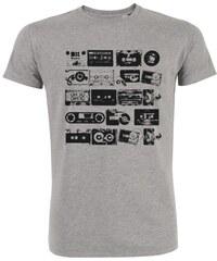 ArteCita K7 color vintage - T-shirt imprimé bio - gris