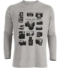 ArteCita Photo Vintage - T-shirt imprimé bio - gris