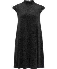 French Connection Kleid mit kurzem Schnitt - schwarz