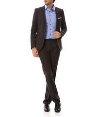 Izac Fakir - 2-teiliger Anzug aus Wolle - anthrazit
