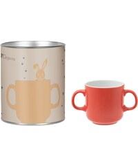 Guy Degrenne Octave et Sidonie - Coffret tube mug 2 anses illusions - rose