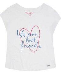 Pepe Jeans London Rani - T-Shirt - weiß