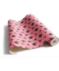 Koziel rouleau de papier toilette rose - Papier peint - rose