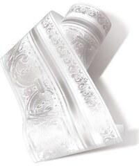 Koziel moulurée - Frise - blanc