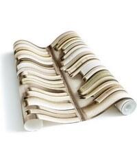 Koziel Bibliothèque actuelle ivoire - Papier Peint - ivoire