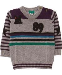 Marese Pullover - zweifarbig