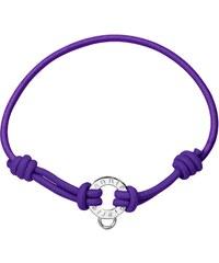 Pierre Lannier Bracelet cordon - violet