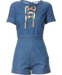 Manoush Kombi-Shorts - blau